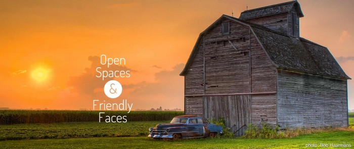 Barn Open Spaces & Friendly Places