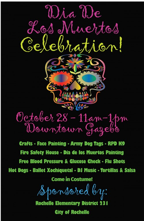 NEW:  Dia de los Muertos Celebration!